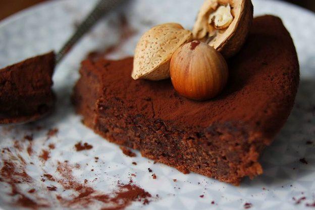 gâteau chocolat au coeur moelleux