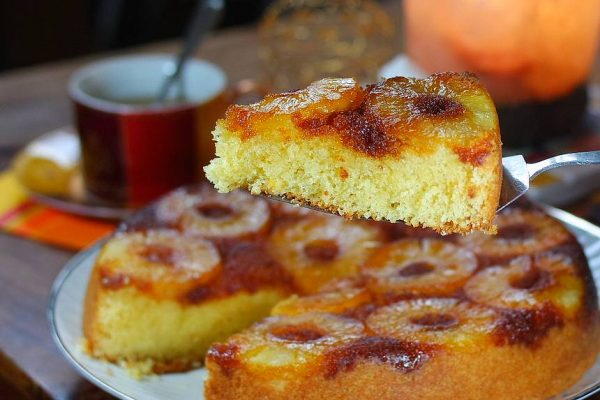 Gâteau à l'ananas