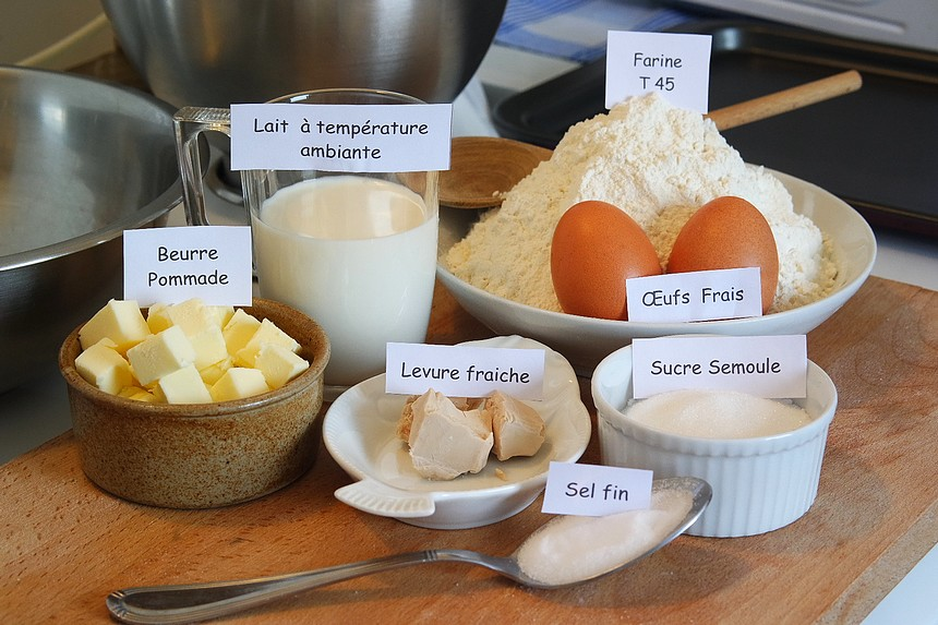 Brioche moelleuse au lait - Rodolphe Briec - Blog Court-bouillon