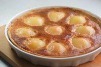 Tarte amandine moelleuse aux poires- Rodolphe Brie - blog court-bouillon