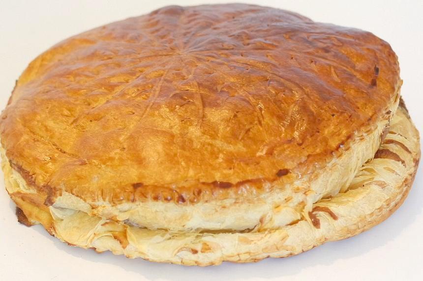 Galette des rois crème frangipane - Rodolphe Briec - Blog Court-bouillon