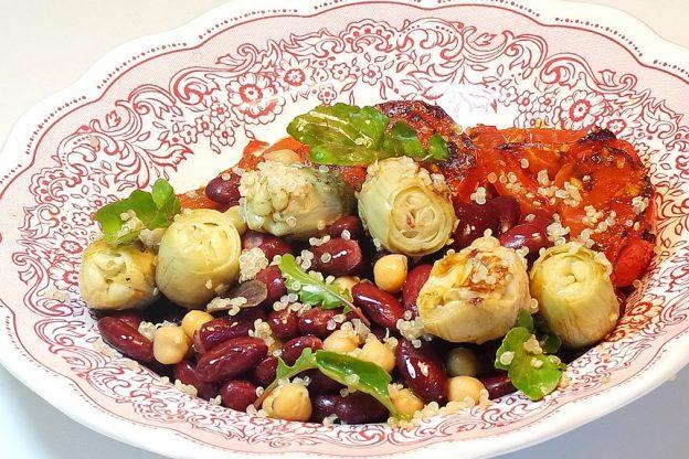 Salade végétarienne-blog court-bouillon-Rodolphe Briec